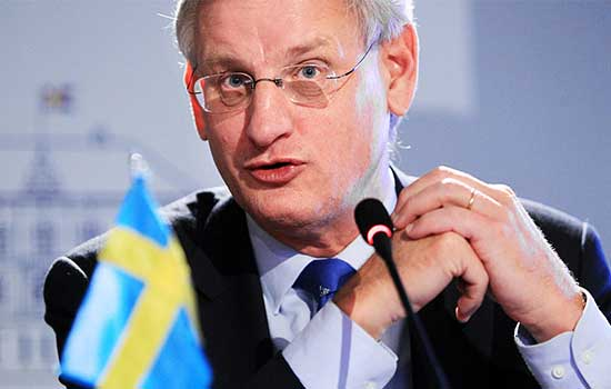 Carl Bildt, Srbija i Kosovo