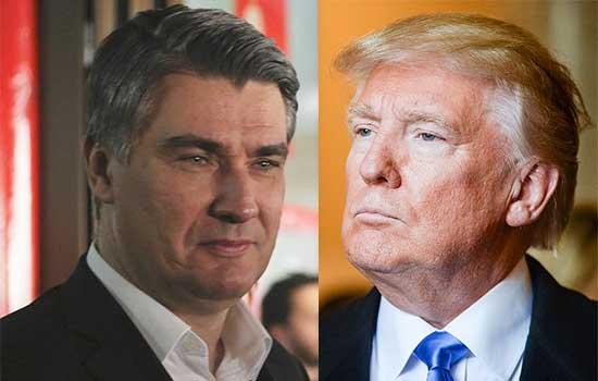 Zoran Milanović bolji od Donalda Trumpa
