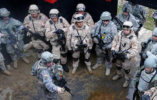 SAD i RH vojnici