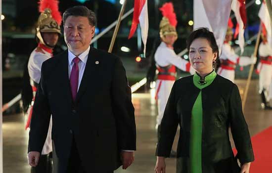 Xi-Jinping-with--wife-prezident-Kina