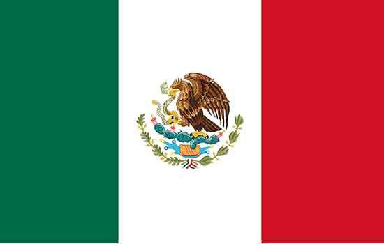 zastava-Meksika