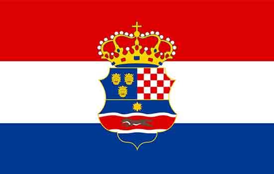 zastava-kraljevine-Hrvatske-Slavonije-Dalmacije