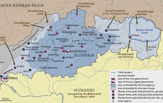 Slovačka u Drugom svjetskom ratu